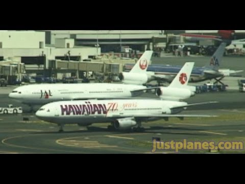 Widebody Jets at HONOLULU AIRPORT (2000)