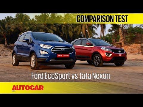 Ford EcoSport vs Tata Nexon   Comparison Test   Autocar India