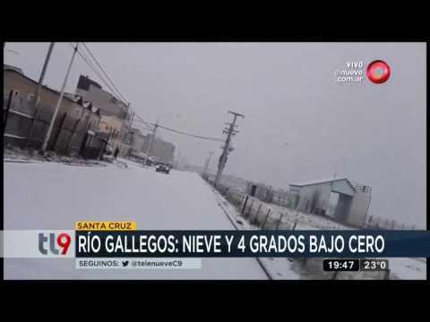 Nevada intensa en Bariloche