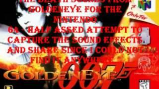 GoldenEye 007 N64 - Death Sound Effects