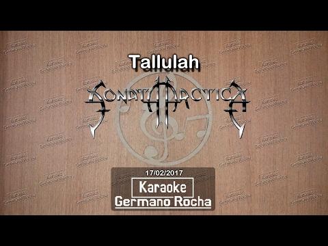 Sonata Arctica - Tallulah (Karaoke)