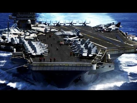 USS Carl Vinson SUPERCARRIER STRIKE GROUP! Ultimate FLIGHT D