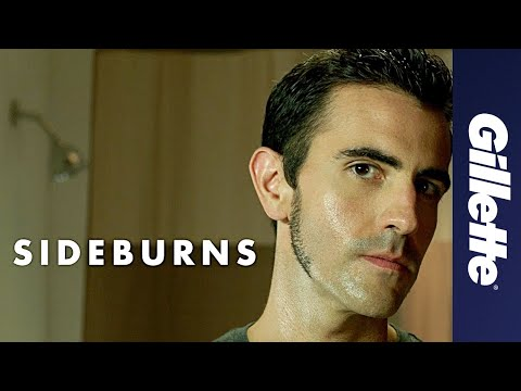 Sideburn Styles: How to Shave Classic Sideburns | Gillette