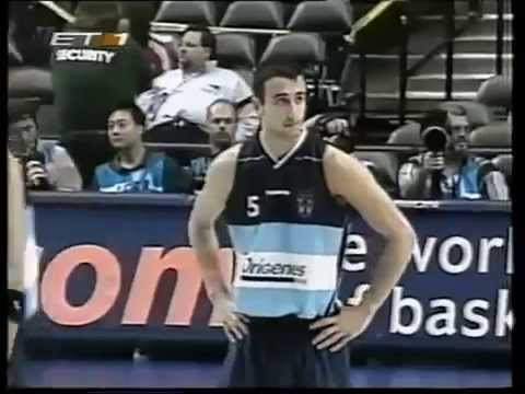 2002 FIBA World Championship semi final argentina-germany