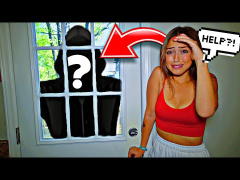 OUR STALKER TRIED TO BREAK IN... *HOME ALONE*