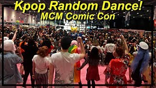Kpop Random Dance Game at MCM Comic Con London 2019