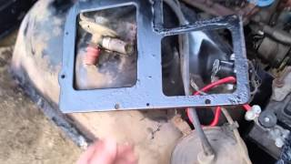 67 Galaxie Heater core part 2