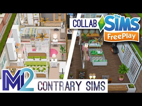 Sims FreePlay Collab - House Flip Challenge with Contrary Sims