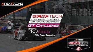 Ricmotech GT Challenge | Round 8 at Watkins Glen