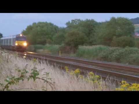 Prestatyn 25.7.2013 - Arriva Trains Class 67 WAG Express