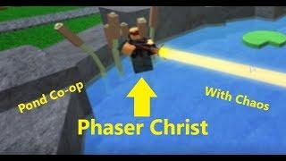 Phaser Christus   Roblox   TurmSchlachten   Teich   Co-Op mit Chaos