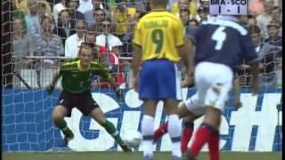 Scotland vs Brazil the Goals France '98