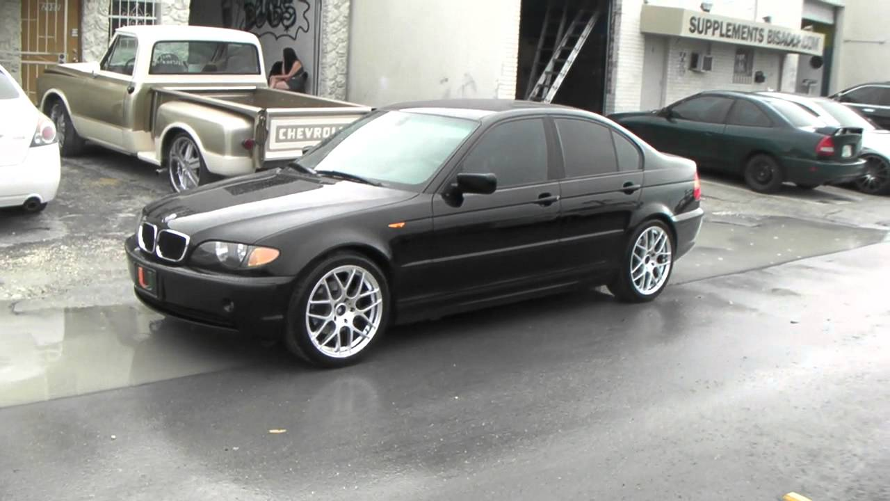 medium resolution of dubsandtires com 18 inch ruff racing r 356 silver wheels 2004 bmw 3 series review miami youtube