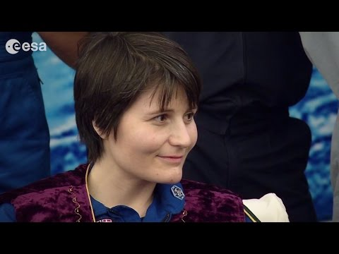 Soyuz TMA-15M landing – welcoming ceremony