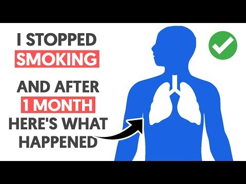 I Stopped Smoking and After 1 Month Here's What Happened