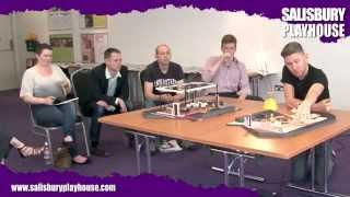 Bedroom Farce And Separate Tables Model Box Presentation