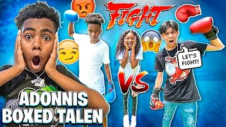 ADONNIS BOXED TALEN 🥊 & MYKEL MADE A SONG FOR MACEI!❤️