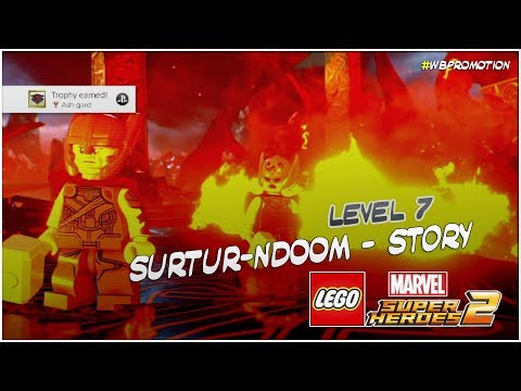 Lego Marvel Superheroes 2: Level 7 / Surtur-NDOOM STORY - HTG
