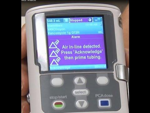 Air In line Alarms - CADD® Solis Ambulatory Infusion Pump