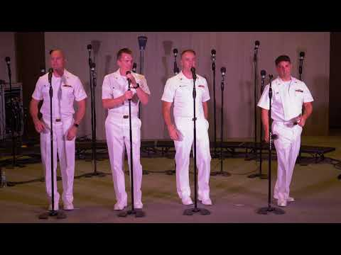 US Navy Sea Chanters - 1960s Hit Medley (in 4K)