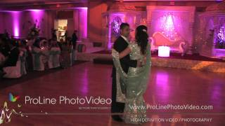 Indian Wedding First Dance at Sheraton Hotel, Mahwah NJ (Nisha and Surag)