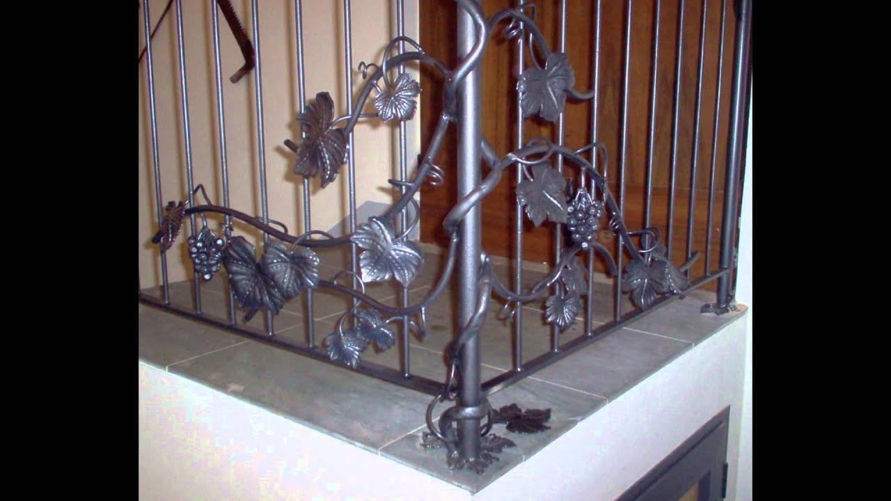 scale e ringhiere stairs railing martelli ferro