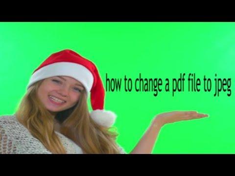 How to turn a pdf into a jpeg pc