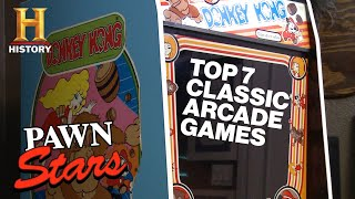 Pawn Stars: TOP ARCADE GAMES OF ALL TIME (7 Rare High Score Deals) | History