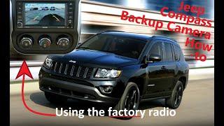 Aftermarket Jeep Camera Install Using Factory Radio