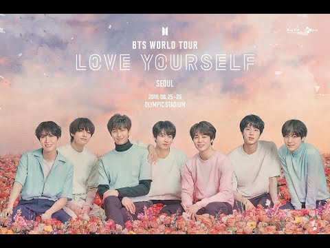 BTS Announces Dates BTS World Tour Love Yourself
