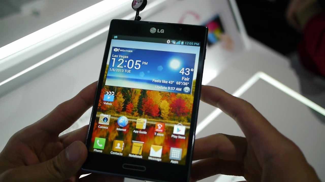 LG Optimus Vu II Video clips - PhoneArena