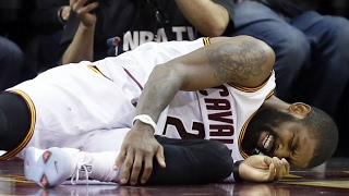 Kyrie Irving: 'I wasn't coming out' due to twisted ankle