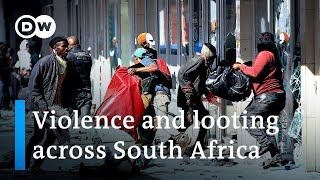 South Africa deploys troops to quell unrest sparked by Zuma jailing | DW News