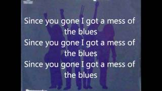 Status Quo - A Mess Of The Blues - Lyrics