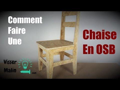 Chaise Osb Youtube Une En Comment Faire 7v6ImbgyYf