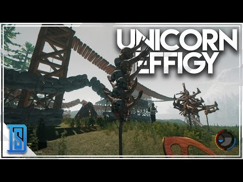 The Forest Multiplayer Pt.11 - UNICORN EFFIGY/LAWYER CAVE!