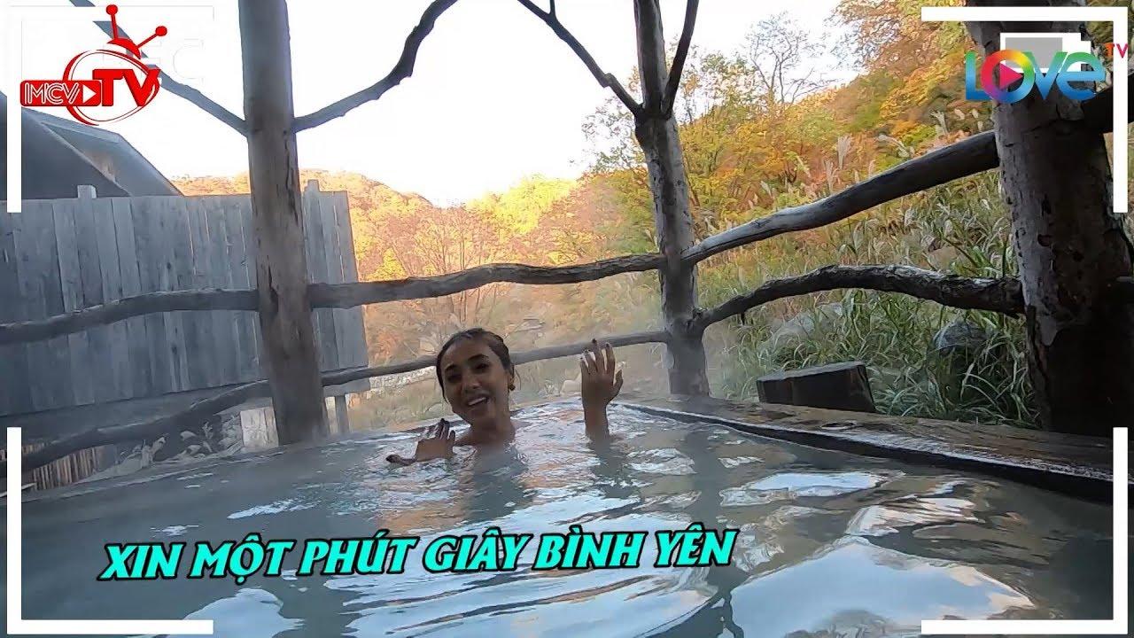 Nữ ca sĩ Việt Nam khỏa thân tắm onsen tại suối nước nóng phong cảnh tuyệt đẹp Kuroyu Onsen Akita ?