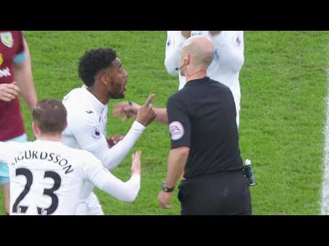 FT Swansea 3 - 2 Burnley
