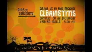 Spot Cierre de la Grira Clarinetitis de la agrupación de jazz Aire de Concierto