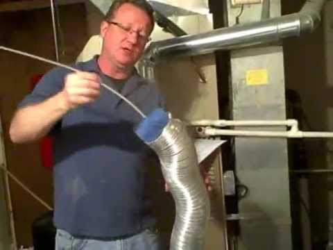 how to clean a dryer vent prevent a lint fire youtube. Black Bedroom Furniture Sets. Home Design Ideas