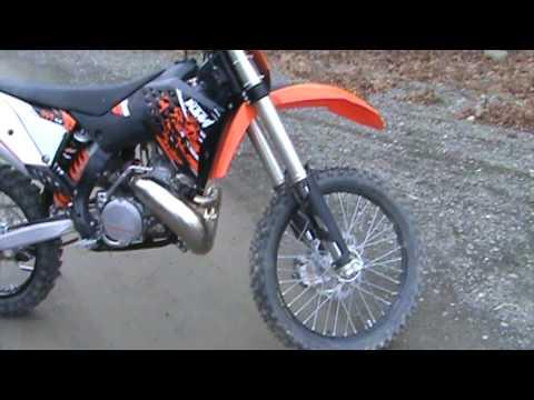 ktm 250 sx 2009 - youtube