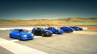 Forza 6: World's Greatest Drag Race! Fastest Subaru WRX STI All in One Race