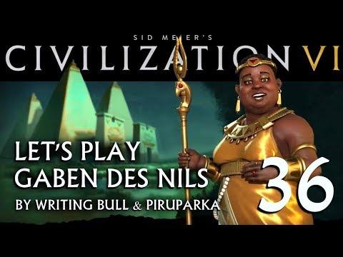 Let's Play: Civilization VI | Gaben des Nils (36) [deutsch]