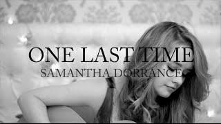 Ariana Grande - One Last Time [Cover]