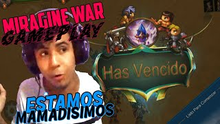 MIRAGINE WAR GAMEPLAY 💣 - Estamos MAMADISIMOS