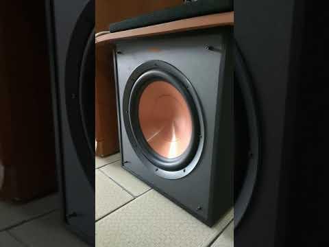 klipsch-r-100sw-port-fart/chuffing-noise