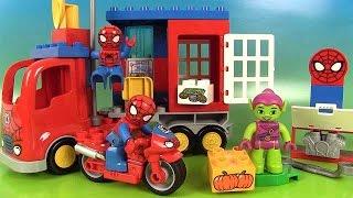 Lego Duplo Spider-man Aventure en Camion-Araignée Atelier Moto-Araignée thumbnail