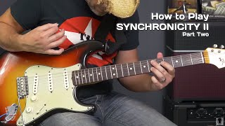 How To Play Synchronicity II The Police Part 2 Guitar Tutorial