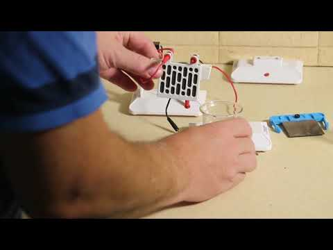 Salt Water Fuel Cell Demo
