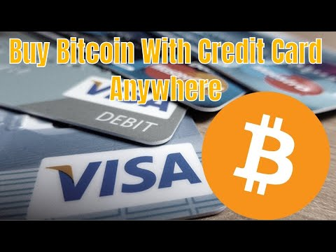 BUY BITCOIN AND ALTCOIN WITH CREDIT CARD ANYWHERE IN THE WORLD
